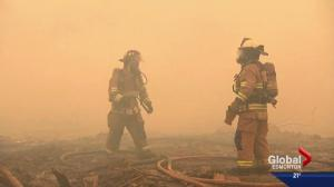 Alberta researchers look into health impact of Fort McMurray wildfire on firefighters