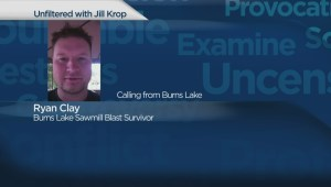 Burns Lake sawmill explosion survivor