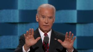 """He's trying to tell us he cares about the middle class? That's a bunch of malarkey': Biden on Trump"