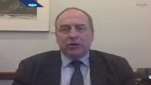 2015 BC Budget: Green MLA Andrew Weaver reacts