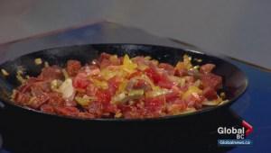 Saturday Chef: Halibut with chorizo ragu
