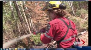 Crews from around the world help battle Alberta wildfires