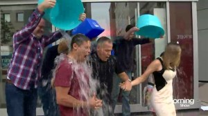 The Morning Show takes the ice bucket challenge