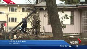 Fire destroys one home, damages others in north Edmonton