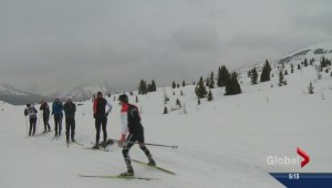 Canada's cross country team hits the high country looking for snow