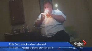Doug Ford reacts to his brother's crack tape made public