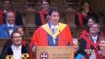 Trudeau attempts Scottish accent during Edinburgh convocation speech