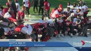Gotta See It: Stamps rookie award