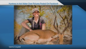 Huntress under fire for posting pictures of killed animals on Facebook