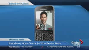 BIV: Blackberry goes classic to woo buyers back