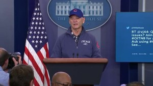 Bill Murray crashes the White House briefing room
