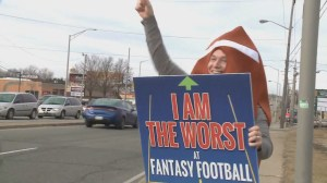 Fantasy football fan sacked with embarrassing punishment
