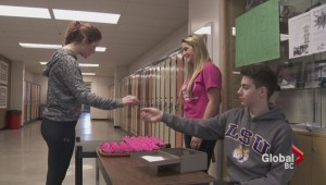 Grade 12 student does her part to help end bullying