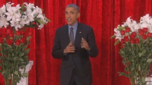 WATCH: Obama, First Lady exchange steamy Valentine's Day messages on 'Ellen' show