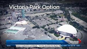 Calgary councillors consider Victoria Park for new arena