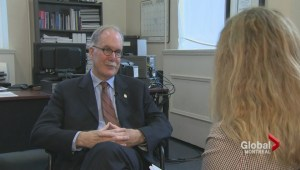 Language Commissioner Graham Fraser on language rights in Quebec