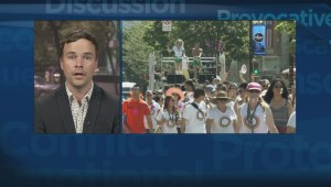 Did introduction of bill hurt Vancouver Pride Parade?