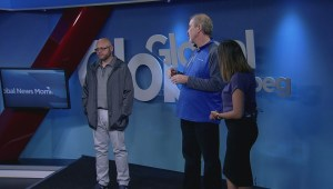 May long weekend outfits on Global News Morning