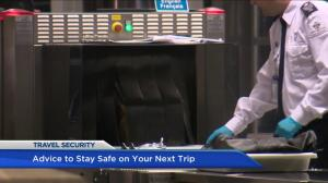 Advice to stay safe on your next trip