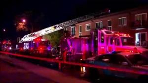 Arson squad investigates Park-Ex fire