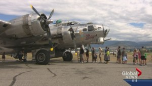 Penticton gets flying reminder of days gone by