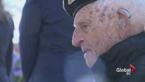 102-year-old WWII veteran honoured