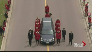 Honouring the fallen: Emotional goodbye in Moncton
