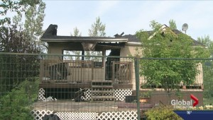 Scene of murder in Leduc County destroyed by fire