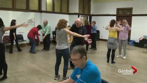 Breaking down barriers through dance for people living with Parkinson's