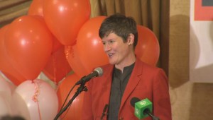 Federal Election 2015: NDP's Megan Leslie gives emotional speech after losing riding