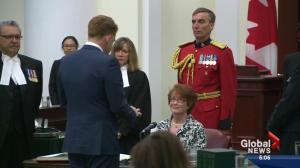 Alberta's MLAs sworn in