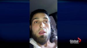 RCMP release more footage of Parliament Hill shooter's final video message