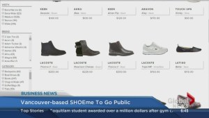 BIV: Vancouver based SHOEme to go public
