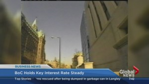 BIV: Bank of Canada key interest rate unchanged