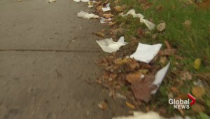 Medical files littering city streets
