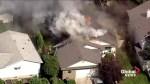 Fire crews battle Beaumont house fire