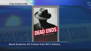 Book explores 40 crimes from BC's history