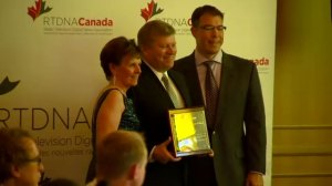 RTDNA Awards: Tom Clark honoured with Lifetime Achievement Award