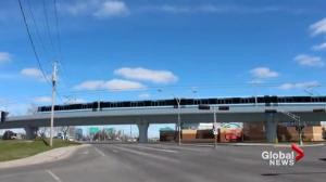 Increasing cost of Montreal electric train project