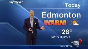 First week of May brings summer weather to Edmonton