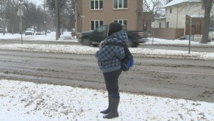 Winnipeg transit users calling for more bus shelters as snow arrives