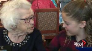 Alberta school program pairs students with seniors