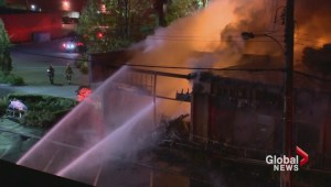 Fire in Port Coquitlam destroys strip mall