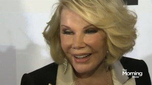 Joan Rivers endorsing iPhone 6 from beyond grave?