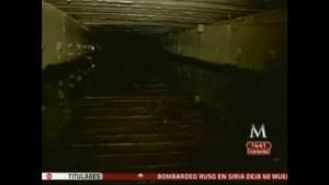 """Mexican Media shown tunnel where Joaquin """"El Chapo"""" Guzman re-captured"""