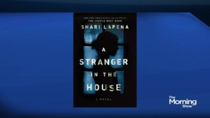 Author Shari Lapena's new book, 'A Stranger in the House'