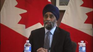 Harjit Sajjan asked about the efficacy of peacekeeping