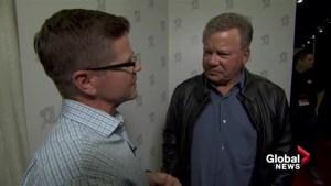 Captains log: Gord Gillies talks to Captain Kirk himself William Shatner