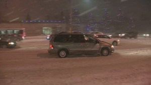 Winnipeg hit with winter storm Tuesday morning