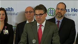 Rick Perry confident Texas has the capability to combat Ebola